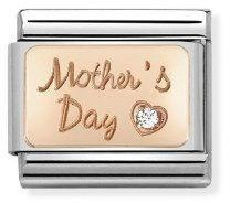 Nomination Rose Gold Mothers Day   - Click to view larger image