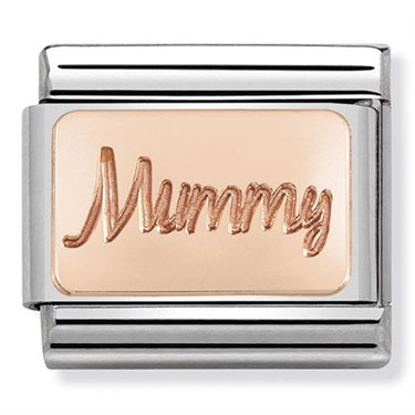Nomination Rose Gold Mummy Charm  - Click to view larger image
