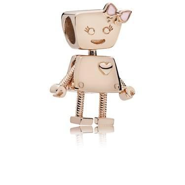 Pandora Rose Bella Bot Charm  - Click to view larger image