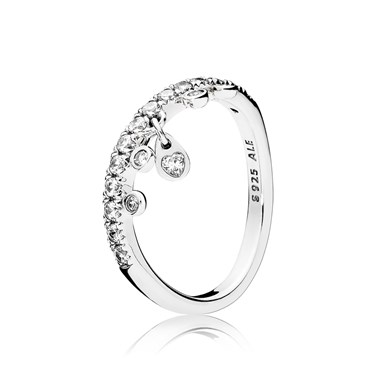 Pandora Chandelier Droplets Ring  - Click to view larger image