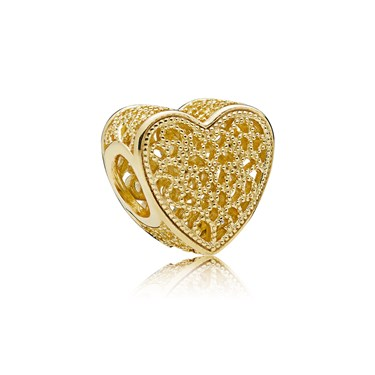 Pandora Filled With Romance Shine Charm  - Click to view larger image