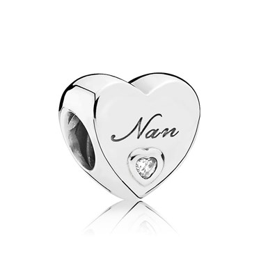 aed34506f Pandora Nans Love Charm - Click to view larger image
