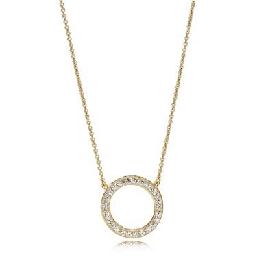 Pandora Hearts of PANDORA Shine Necklace   - Click to view larger image
