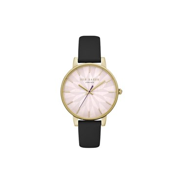 Ted Baker Ladies Kate Black Strap Watch  - Click to view larger image