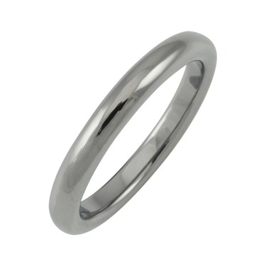 Argento Stacking Rings Black Rhodium Band