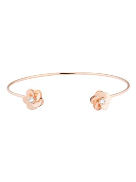 Ted Baker Phedra Polished Flower Ultra Fine Cuff  - Click to view larger image