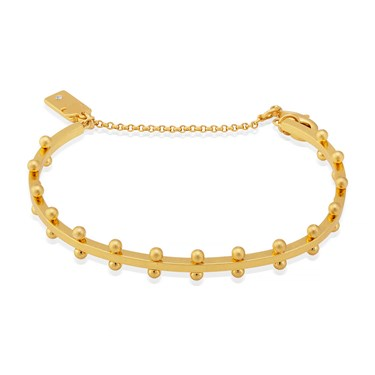 Kate Spade New York Gold Standard Double Studded Bracelet  - Click to view larger image