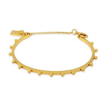 Kate Spade New York Gold Standard Studded Bracelet  - Click to view larger image