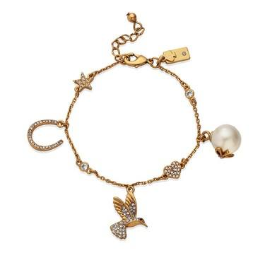 Kate Spade New York Grandmas Closet Charm Bracelet  - Click to view larger image