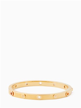 Kate Spade New York Heavy Metals Gold Grommet Bangle  - Click to view larger image