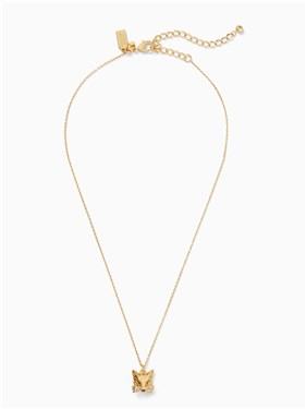 d4ca01a2e Kate Spade New York So Foxy Fox Mini Pendant Necklace - Click to view  larger image