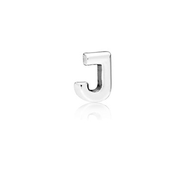 PANDORA Letter J Petite Locket Charm  - Click to view larger image