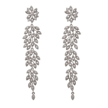 Lily & Rose Laurel Crystal Drop Earrings  - Click to view larger image