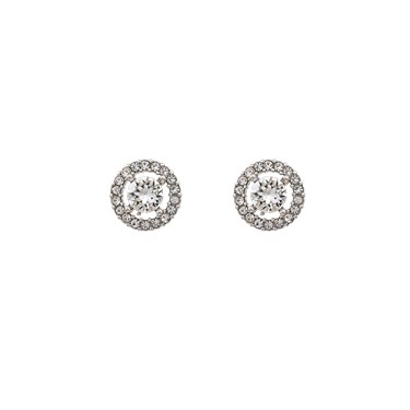 Lily & Rose Miss Miranda Crystal Stud Earrings  - Click to view larger image