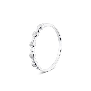 Argento Silver  Fine Circle Ring  - Click to view larger image