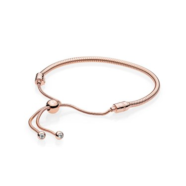Pandora Moments Rose Sliding Bracelet  - Click to view larger image