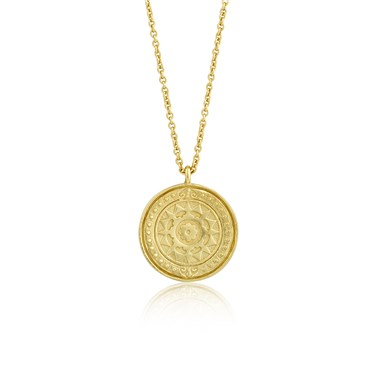Ania Haie Gold Verginia Sun Necklace  - Click to view larger image