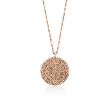 Ania Haie Rose Gold Ancient Minoan Necklace  - Click to view larger image