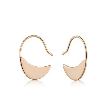 Ania Haie Rose Gold Small Drop Earrings  - Click to view larger image