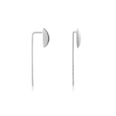 Ania Haie Silver Long Post Earrings - Silver