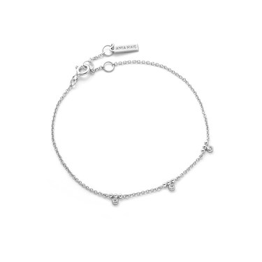 Ania Haie Silver  Sparkle Stud Bracelet  - Click to view larger image