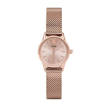 CLUSE La Vedette Mesh Full Rose Gold Watch  - Click to view larger image