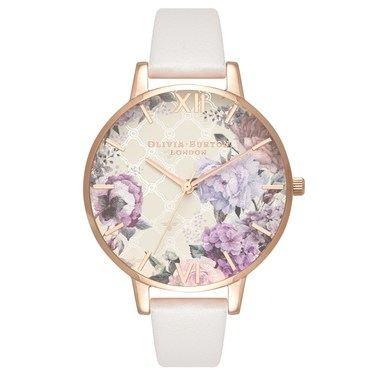 81aea132f8345 Olivia Burton Glasshouse Blush + Rose Gold Watch - Click to view larger  image