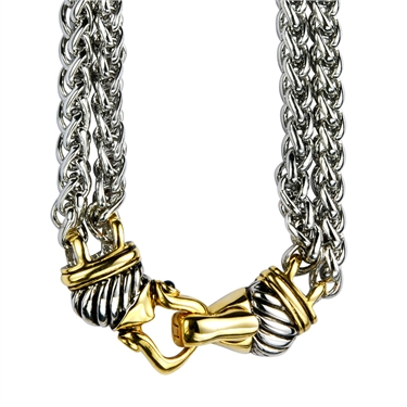 Karma Multi Chain Necklace