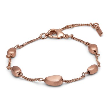 Pilgrim Lilian Rose Gold Plated Bracelet  - Click to view larger image