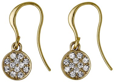 Pilgrim Classic Gold Grace Drop Earrings  - Click to view larger image