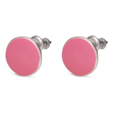 Pilgrim Pink Stud Earrings  - Click to view larger image