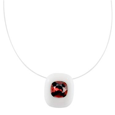 Argento Bordeaux Necklace