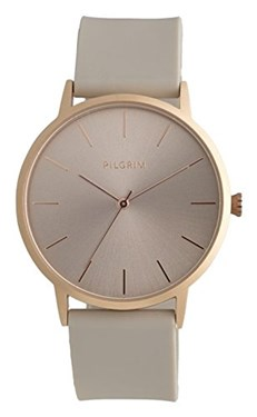 Pilgrim Aurelia Rose Gold Plated Nude Watch  - Click to view larger image