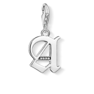 Thomas Sabo Letter A Charm  - Click to view larger image