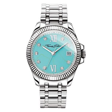 Thomas Sabo Divine Turquoise Crystal Watch  - Click to view larger image