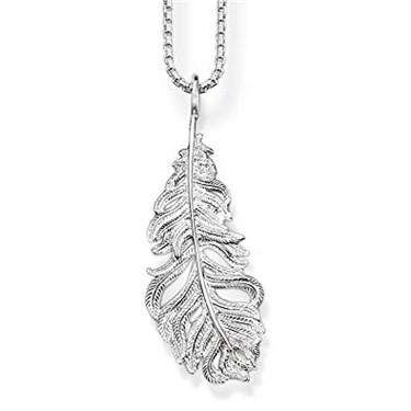 Thomas Sabo Feather Necklace  - Click to view larger image