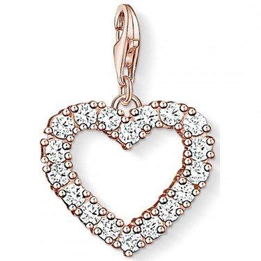 Thomas Sabo Heart Charm  - Click to view larger image
