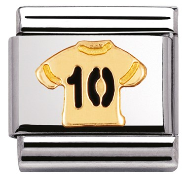 Nomination No.10 Shirt Charm - Click to view larger image
