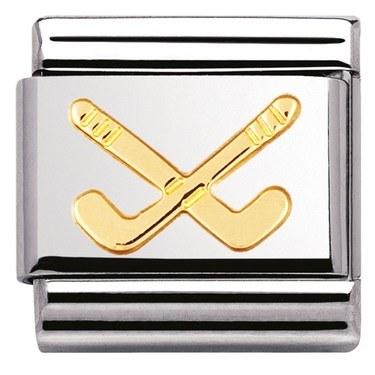Nomination Hockey Clubs Charm