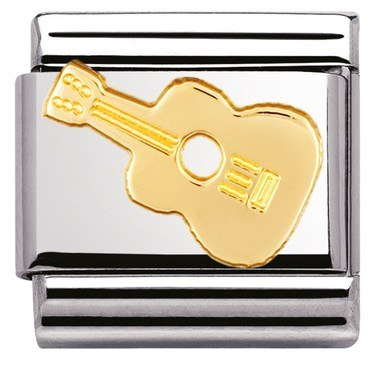 Nomination Guitar Charm  - Click to view larger image