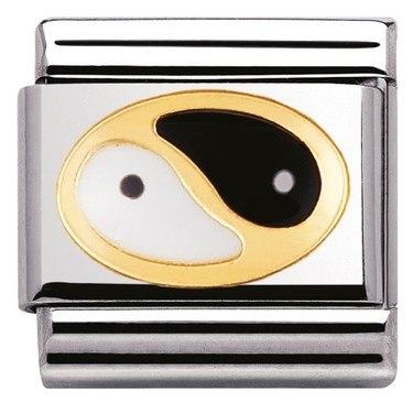 Nomination Yin Yang Charm  - Click to view larger image
