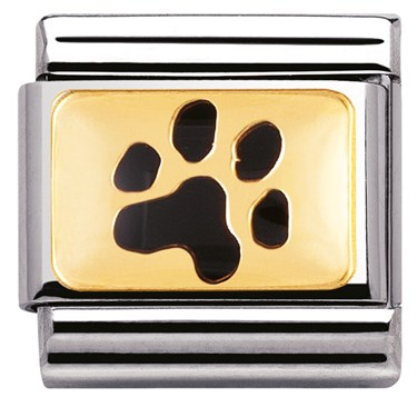 Nomination Paw Print Charm  - Click to view larger image