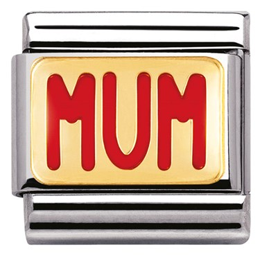 Nomination Mum Charm  - Click to view larger image