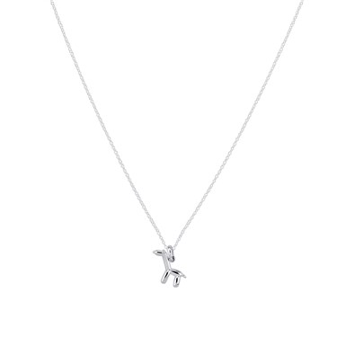Argento Silver Balloon Giraffe Necklace  - Click to view larger image