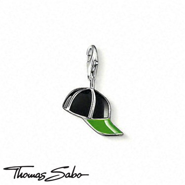 Thomas Sabo Baseball Cap Charm - Click to view larger image