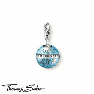 Thomas Sabo Globe Charm  - Click to view larger image
