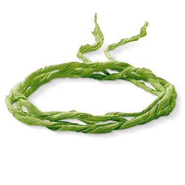 Thomas Sabo Green Silk Charm Ribbon - Click to view larger image
