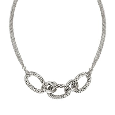 Nomination Cortina Silver Necklace  - Click to view larger image