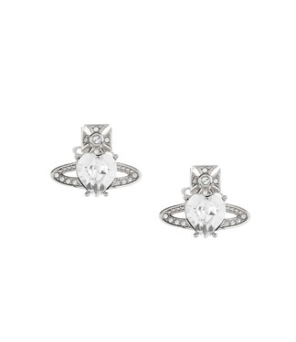 Vivienne Westwood Silver Ariella Earrings  - Click to view larger image
