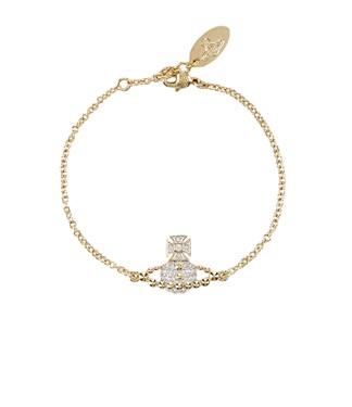 Vivienne Westwood Gold Lena Bracelet  - Click to view larger image